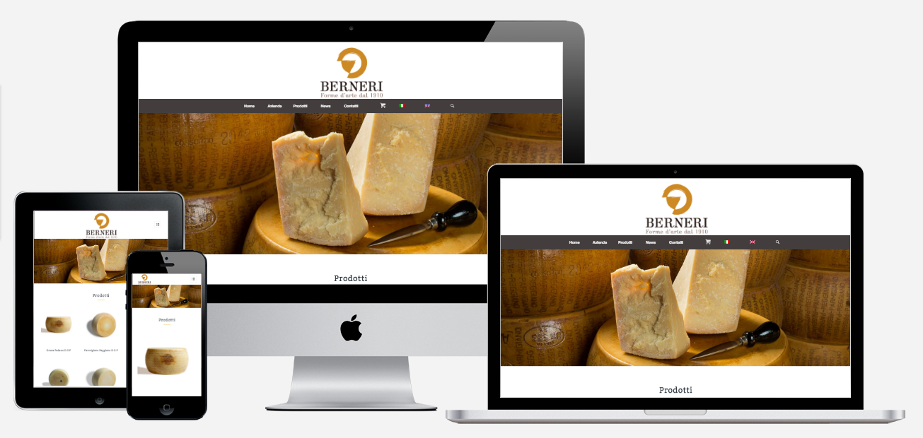 Realizzazione sito web Berneri SPA