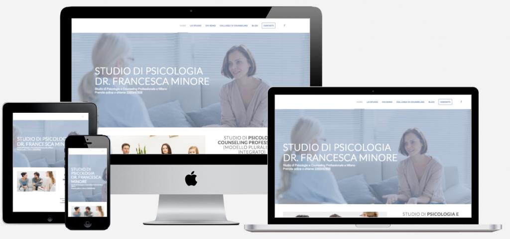 realizzazione sito internet studio psicologico